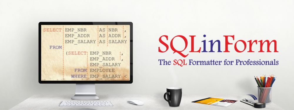 SQLinForm The SQL Formatter
